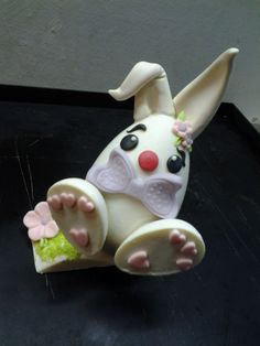 Coniglietto in cioccolato Omar Busi