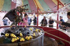 Poluted duck for BANSKY'S DISMALAND August 2015