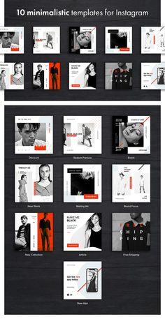 Hype Monger Social Media Pack - Simple shapes and color palette, pure logic and . - Social Media Design - Hype Monger Social Media Pack – Simple shapes and color palette, pure logic and comprehensive des - Social Media Branding, Social Media Ad, Social Media Banner, Social Media Template, Social Media Graphics, Instagram Design, Instagram Grid, Instagram Lifestyle, Ideas Para Logos