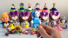 PLAY DOH SURPRISE EGGS with Surprise Toys | Disney Princess - Snow White...