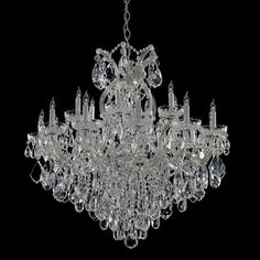 Maria Theresa 18+1 light Crystal Chandelier $3086 overstock