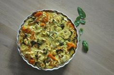 Foodista | Recipes, Cooking Tips, and Food News | Spicy Pumpkin Quiche with Goat Cheese
