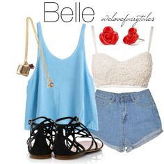 """Belle"" by welovefairytales on Polyvore"