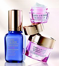 Estee Lauder Lifting/Firming: Reveal a younger, smoother, more lifted and firmer look. - 3 piece collection Available for a limited time only from our in store Estee Lauder counter. Estee Lauder Resilience Lift, Estee Lauder Perfectionist, Body Makeup, All Things Beauty, Beauty Tips, Beauty Products, Skin Firming, Smell Good, Skin Care Tips