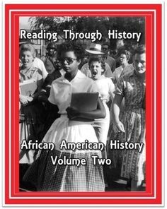 Reading Through History is pleased to present African American History: Volume Two. This is a collaborative effort by two Oklahoma classroom teachers with over thirty years of teaching experience at the secondary level. It includes 154 pages of student activities related to the major figures and events of African American history from the Civil Rights Ear up to present day figures such as Oprah Winfrey and Barack Obama.