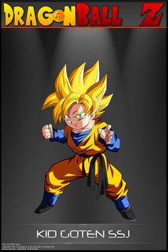 Dragon Ball Z - Son Gokuh Lineart & Colour By ~dbkaifan2009 Background By ~nMINATO Card Design By ~Tekilazo300 *Raykugen,*maffo1989,~orco05 & ~dbkaifan2009