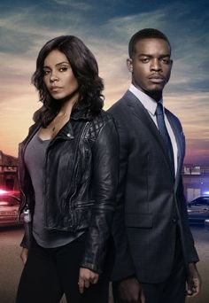 Sanaa Lathan and Stephan James in Shots Fired (2017)