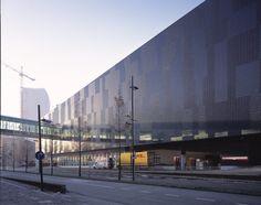 Mediamarkt - Eindhoven, The Nederlands - external coverings with Sculpture by Cerdomus