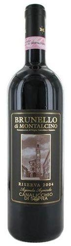 Canalicchio di Sopra Brunello di Montalcino Riserva D.O.C.G. 2007 (Tuscany, Italy)