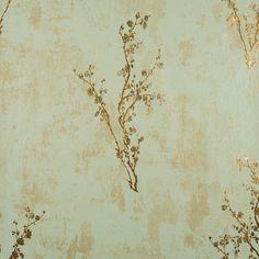 Green and Copper Zen Wallpaper - Wall Sticker Outlet