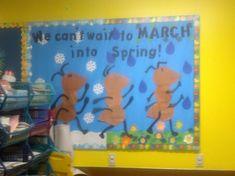 March Bulletin Board Spring
