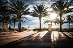 South Beach Promenade by Steve Steinmetz, via 500px
