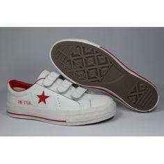 Converse One Star Sneaker White-Red e0fc91a26