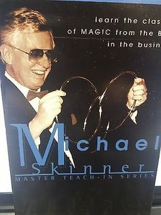 Michael Skinner Master Teach In Series LINKING RINGS VHS VIDEO Collectibles:Fantasy, Mythical & Magic:Magic:Tricks www.webrummage.com $12.99