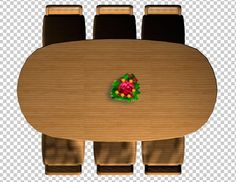 dining table psd file