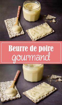 Recette cadeau gourmand beurre de poire facile et rapide - recette de 3 fois par jour sur la Godiche / www.lagodiche.fr