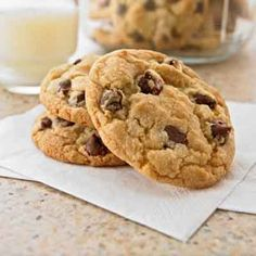 Chocolate chip cookies from a winning recipe. Bake up a big batch of these classic chocolate chip cookies.