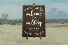 DIY Printable Rustic Wooden Effect Wedding Welcome Sign | Calligraphy | Rustic Vintage | Take a seat not a side | Custom Designs Available