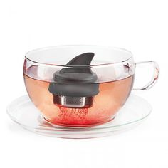 Sharky Tea Infuser By Donkey Products - Yellow Octopus