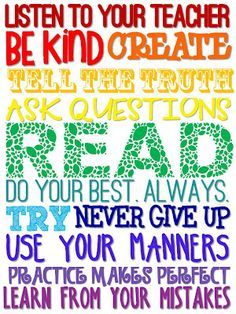 The Learning Tree- Classroom Rules Freebie Classroom Quotes, Classroom Posters, Teacher Quotes, Classroom Signs, Classroom Decor, School Posters, Future Classroom, School Classroom, Classroom Freebies