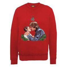 Star Wars Christmas Mistletoe Kiss Sweatshirt