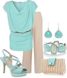 """""""Office look with Tiffany & co clutch"""" by lovelyingreen ❤ liked on Polyvore"""