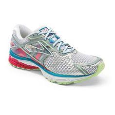 a4366423cc90 Women s Brooks Ravenna 6 shown in White Raspberry Paradise Green Stability  Running