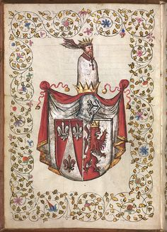 Coat of arms of the Linck family, by the workshop of Jörg Breu the Younger. After 1539