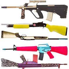 Fashion rifles.....WHAT????