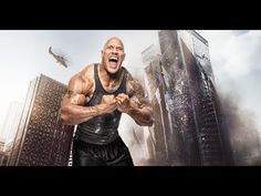 Skyscraper Movie Trailer 2018 Dwayne Johnson Action Framed and on the run, a former FBI agent must save his family from a blazing fire in the world's tallest. Rock Johnson, Dwayne Johnson, Movie Trailers, Skyscraper, Movie Downloads, Action, Statue, Abstract, World