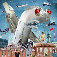 Miles Cole - digital collage illustrator. 'Terminal'