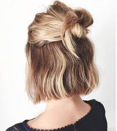 Make everyday a good hair day with these easy hairstyles for busy working moms! These styles look fantastic, yet take next to no time to achieve! Cabelo Inspo, 5 Minute Hairstyles, Hairstyles Haircuts, Medium Hairstyles, Pixie Haircuts, Asian Hairstyles, Rainy Day Hairstyles, Braided Hairstyles, Quince Hairstyles