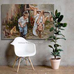 M19015 Jy is onderste bo! - House Of Maria ZA Redeeming Love, Young Love, Pigment Ink, Beautiful Artwork, Canvas Art Prints, Cotton Canvas, Boy Or Girl, Original Artwork, Fine Art