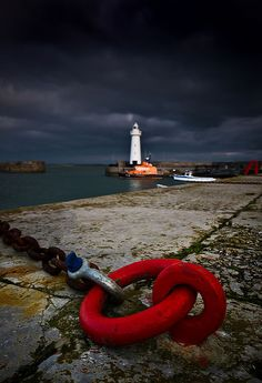 Donaghadee Harbour, Northern Ireland.