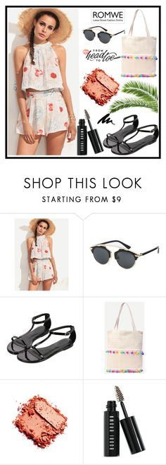 """""""Romwe 10."""" by b-necka ❤ liked on Polyvore featuring Bobbi Brown Cosmetics and romwe"""