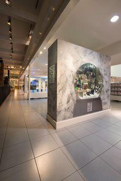 The Science Museum, London | Snow Globe Christmas Showcases, 2014 by Millington Associates