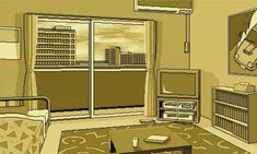 High quality pixel art from PC-98 games