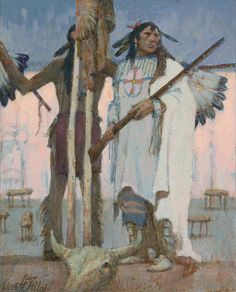 Jackson Hole Art Auction: Ancestors