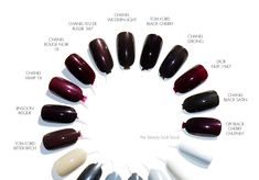 The Beauty Look Book: Tom Ford Beauty Black Cherry Nail Lacquer | Fall 2014