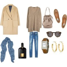 FRIDAY MORNING LOOK by maellog on Polyvore featuring Violeta by Mango, MSGM, Lanvin, Alexander Wang, Jaeger-LeCoultre, Tory Burch, Gucci, Illesteva and Tom Ford