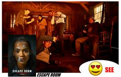 #SeeOrSnub #See #EscapeRoom #Movie #Movies #Film #Films #Horror #HorrorFilm #HorrorFilms #HorrorMovie #HorrorMovies The Best Films, Escape Room, Women's Clothing, Writer, Horror, Author, Clothes For Women, Movies, Women's Clothes