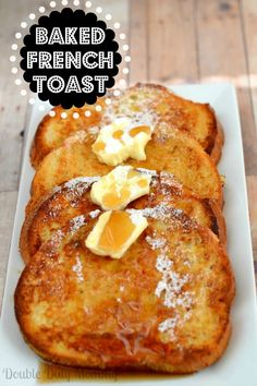 Lactose-Free Baked French Toast