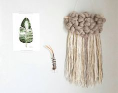 Woven wall hanging   Etsy