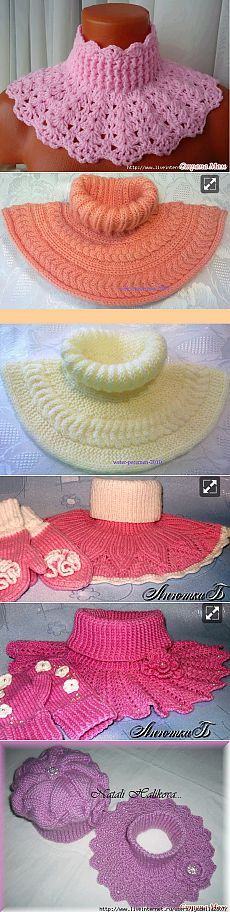шали,шарфы,манишки | Записи в рубрике шали,шарфы,манишки | Дневник Nina62 Knitting & crochet cowls