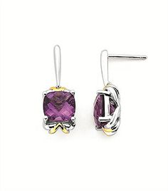 And here is another magnificent colorful gemstone earrings - Parris Jewelers, Hattiesburg, MS