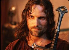 Viggo Mortensen, as Aragorn in Lord of the Ring trilogy.