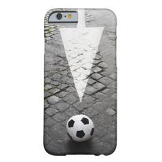 This Way to Soccer 2 Barely There iPhone 6 Case