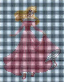 Princess Aurora Crochet Pattern