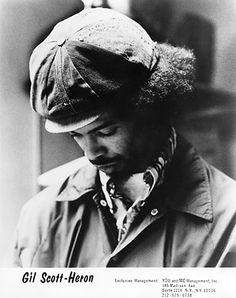 """Gilbert """"Gil"""" Scott-Heron was an American soul and jazz poet, musician, and author, known primarily for his work as a spoken word performer in the and Donald Goines, First Rapper, Gil Scott Heron, Contemporary Jazz, Black Magazine, Luther Vandross, Old School Music, Music Images, Portraits"""