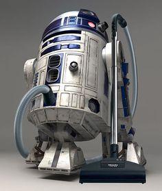 R2-D2 vacuum cleaner!
